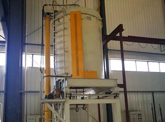 An aluminum alloy quenching furnace for aluminum alloy castings