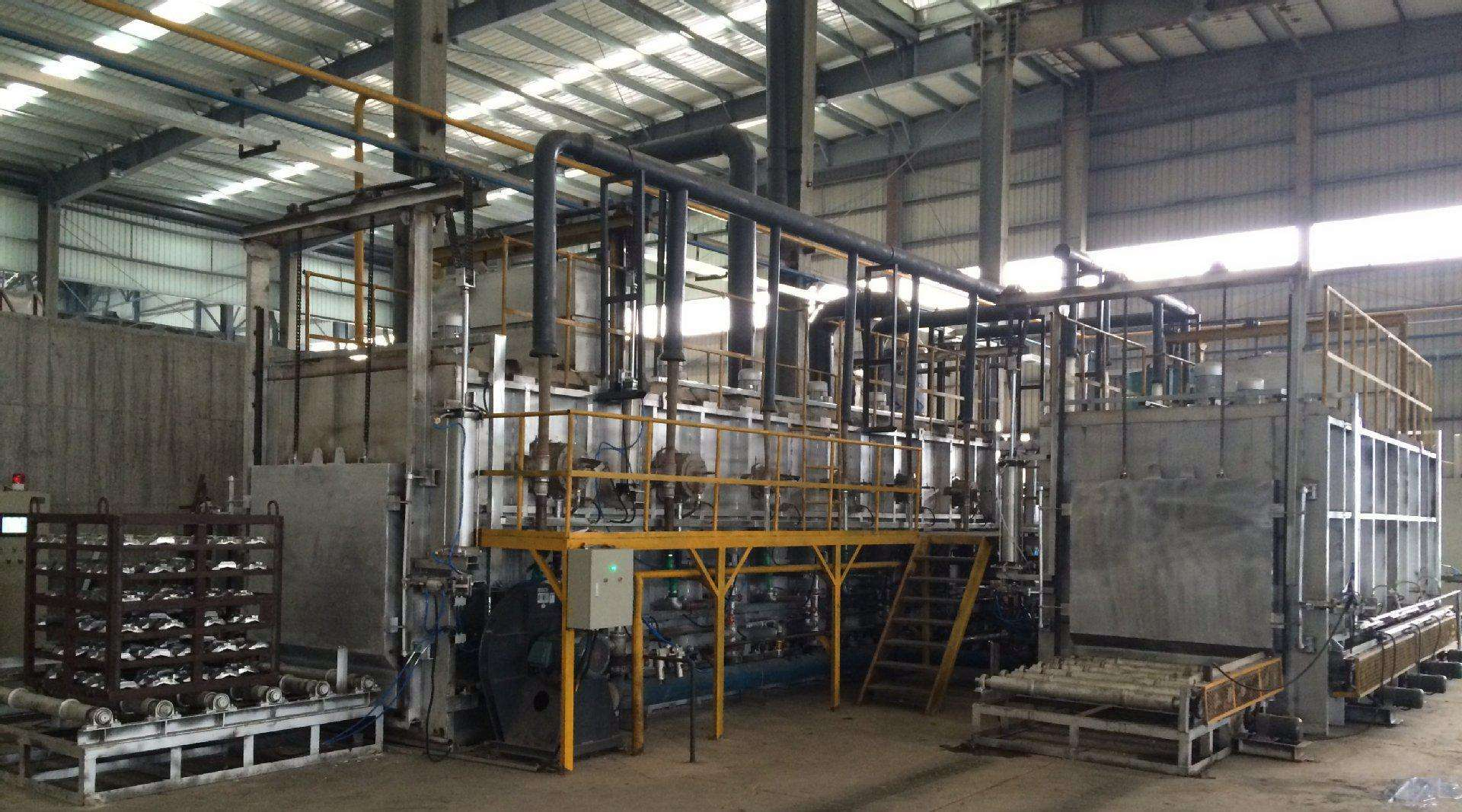 Aluminum Alloy Casting Rapid Quenching Tempering Aging Heat Treatment Furnace