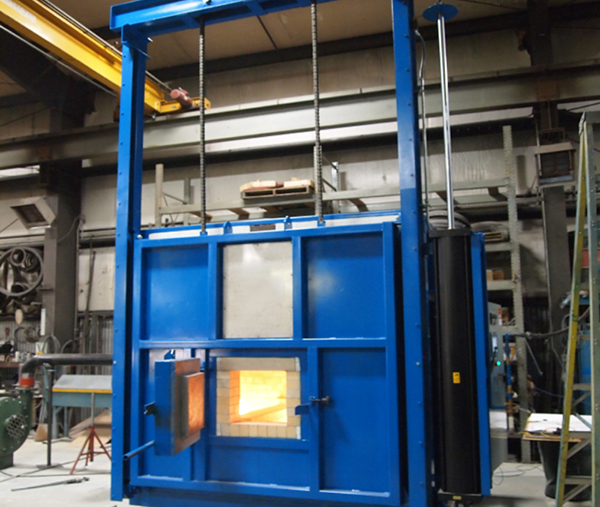 Box type hot air circulation tempering furnace
