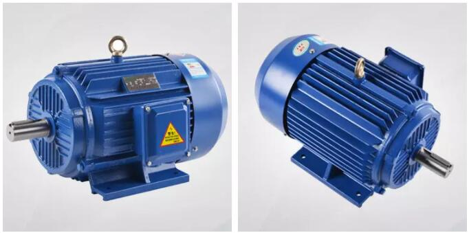Three Phase Induction Motors Ac Electric Fan Motor