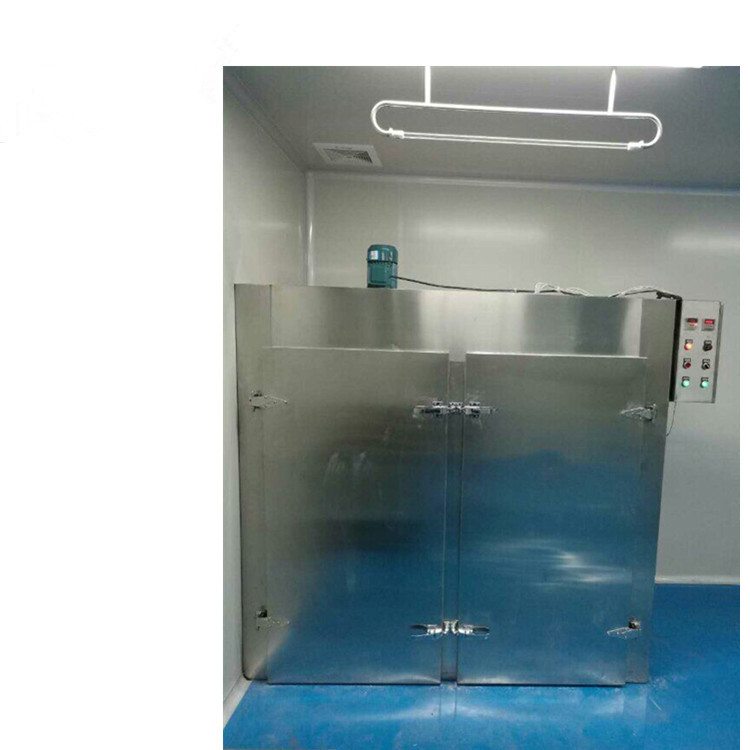 Industrial hot air circulation drying oven,glass bottle drying machine for pharm
