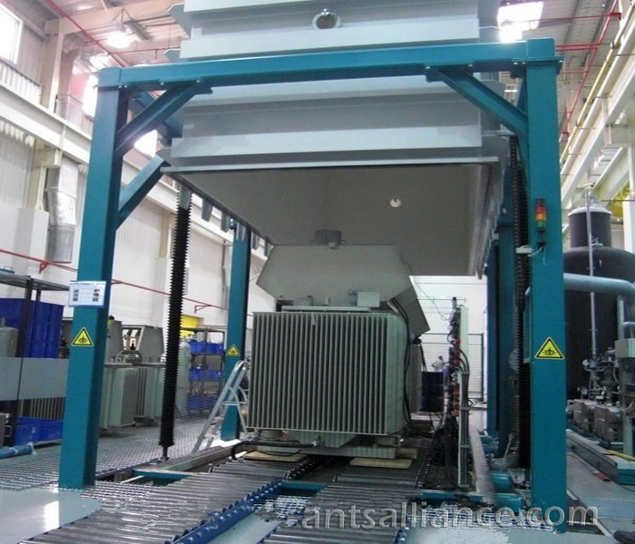 Low Frequency Heating Vacuum Drying Equipment For The Large Transformer