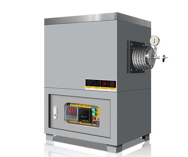 High temperature tube furnace for laboratory use