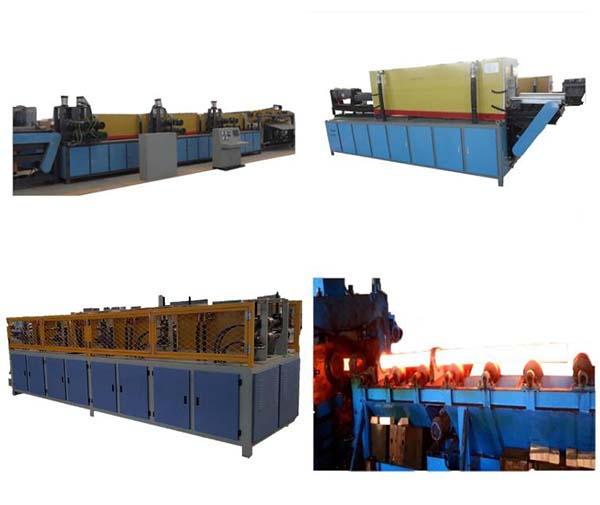 Induction billet heating forging furnace