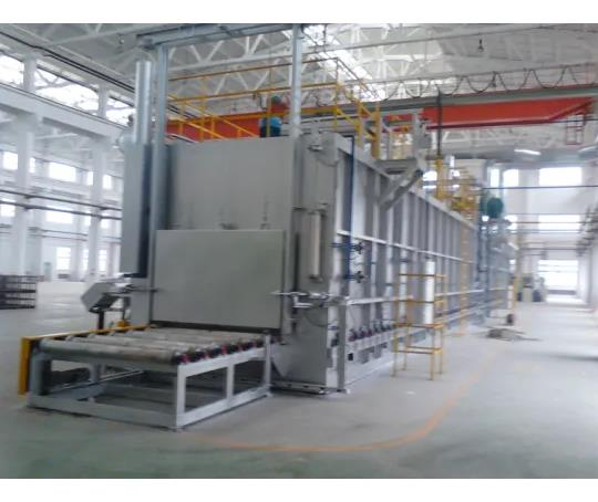 Roller Hearth Heating Furnace for Gas Cylindrer