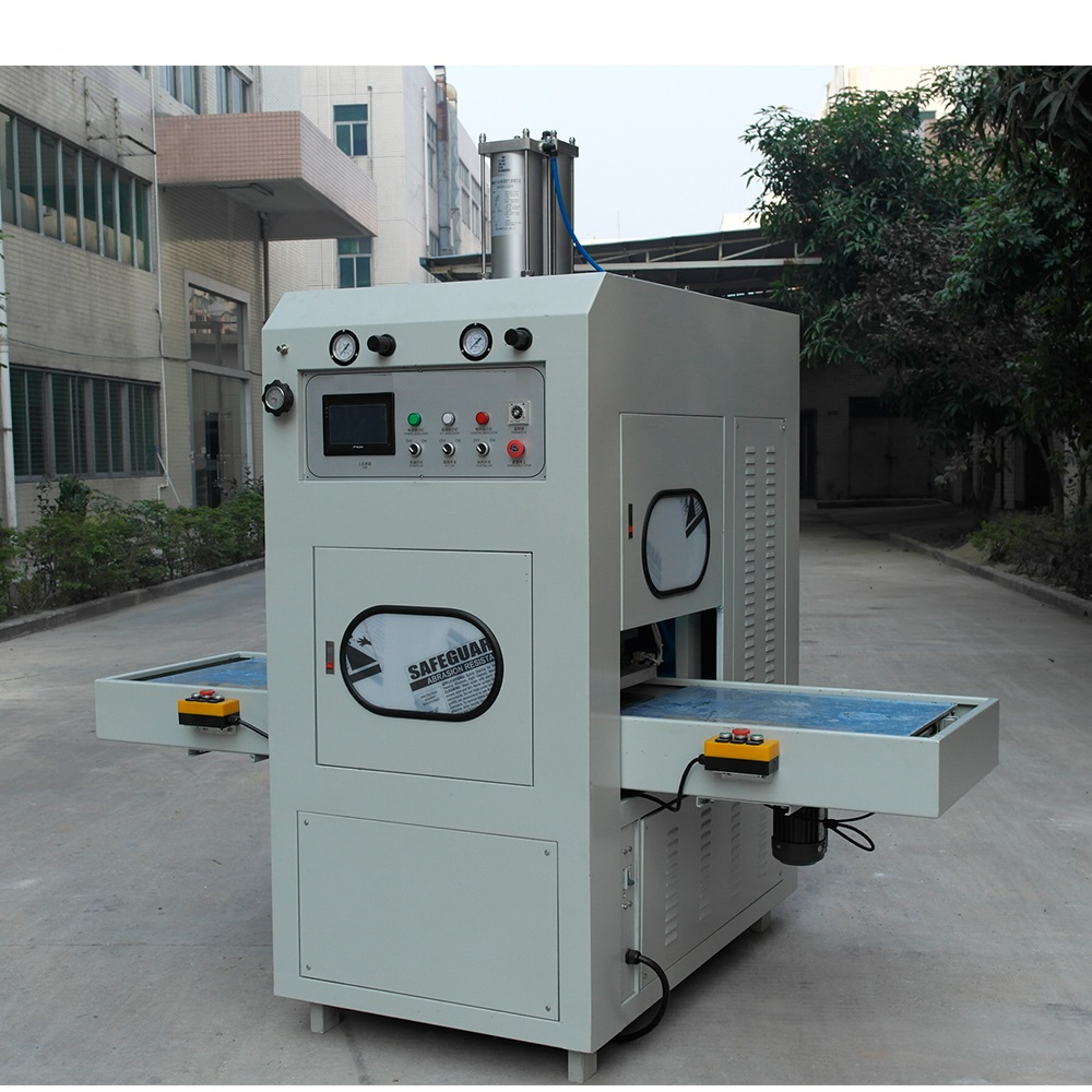 High frequency leather welding machine