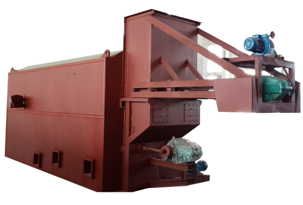 Industrial biomass hot air furnace