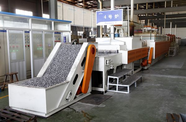 Automatic Heat Treatment Production Line for Cast Iron Balls