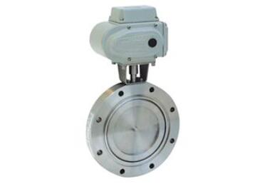 High vacuum electric butterfly valves are used in industrial automation