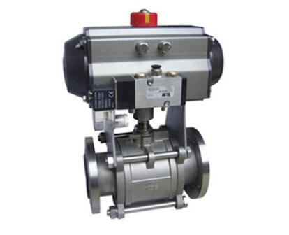 Pneumatic high vacuum ball valve for new energy and semiconductor industry