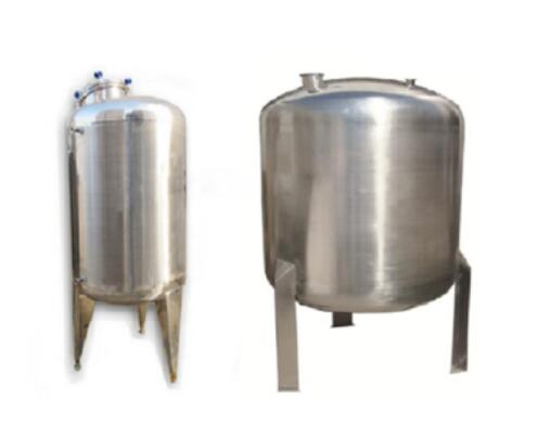 High Pressure Water Container Manufactured
