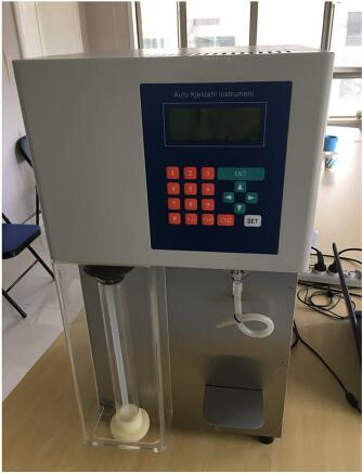 instrument Nitrogen Apparatus analyzer