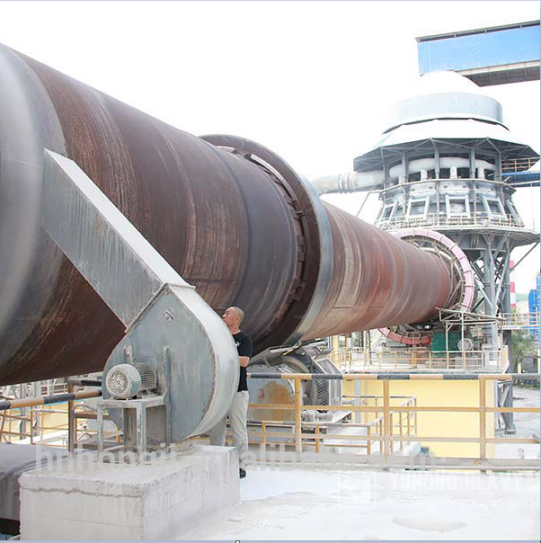 Gypsum Charcoal Calcining Lime Cement Rotary Kiln