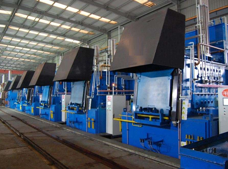 Box type Gas carburizing nitriding multi-purpose furnace