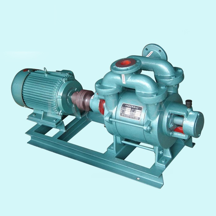 Heavy duty one-stage liquid ring the vacuum pump