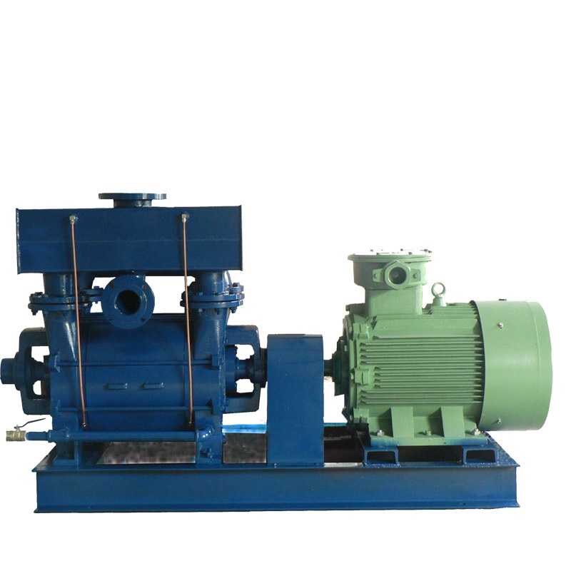 Liquid Ring Vacuum Pump With Air Ejector