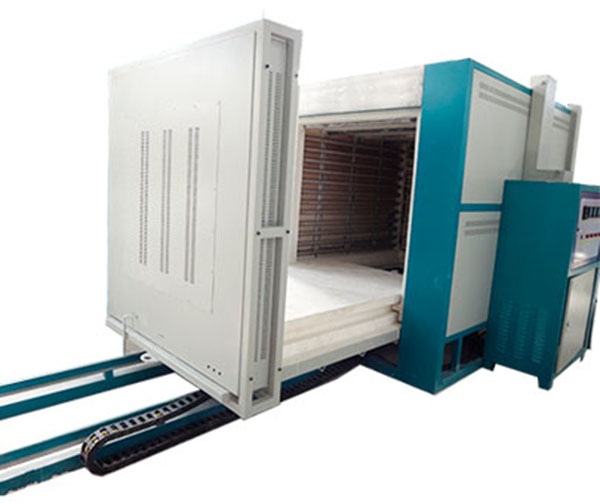 Industrial kiln oven push furnace