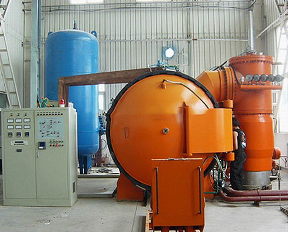 Electric metal quenching furnace