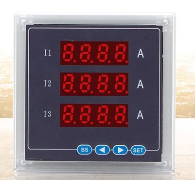 High Quality Digital Ammeter And Multifunction Electric Current Meter