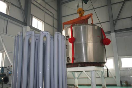 Polysilicon reduction furnace