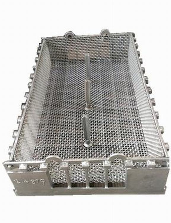High Alloy Steel Charging Basket for Tempering Furnaces