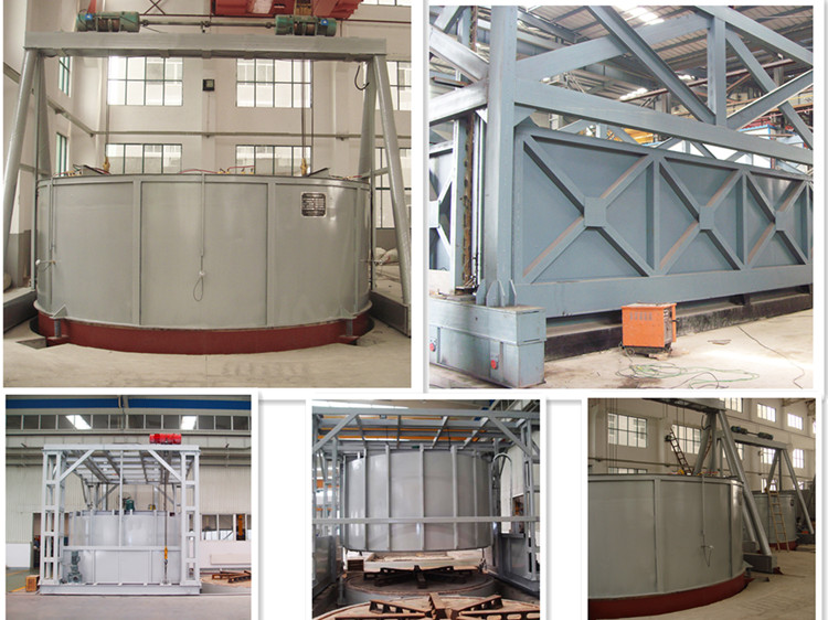 Bell type tempering furnace
