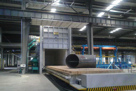 Gas Trolley Furnace