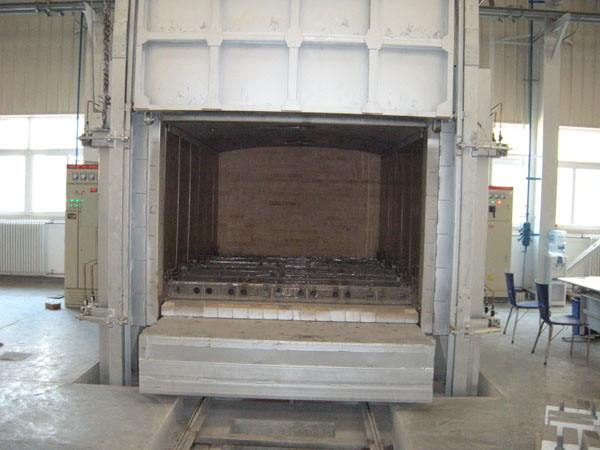 Hot air Trolley Furnace