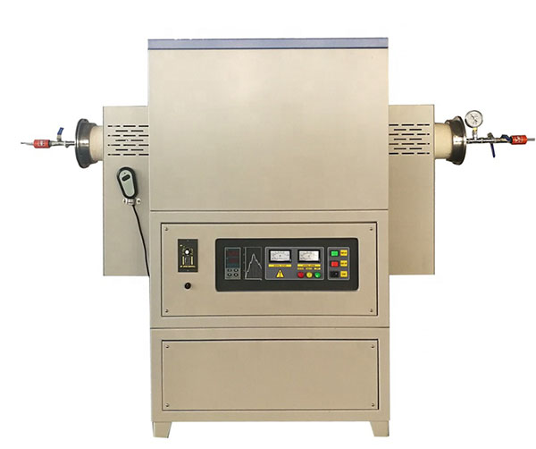 Atmospheric rotary high temperature ceramic tube furnace