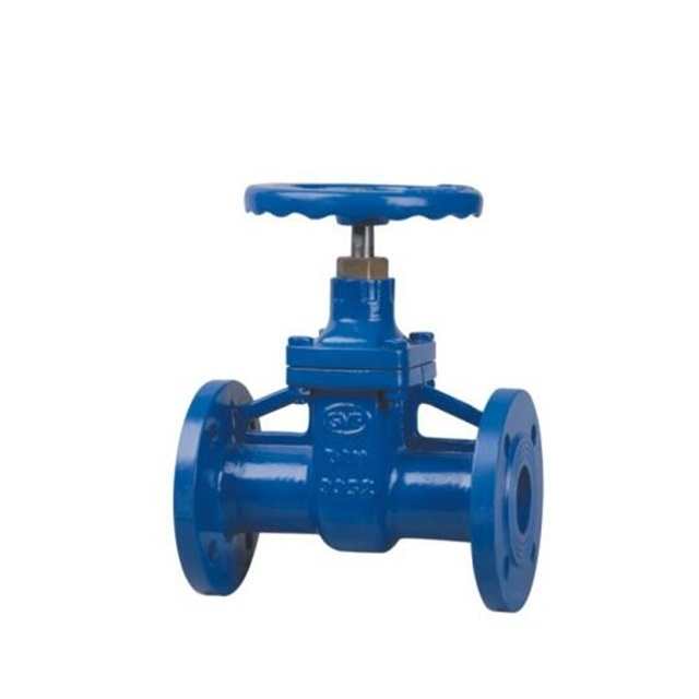 50mm Cast Iron Pn16 Dn100 Water Din 3352 F4 Resilient Seated Gate Flanged Valve