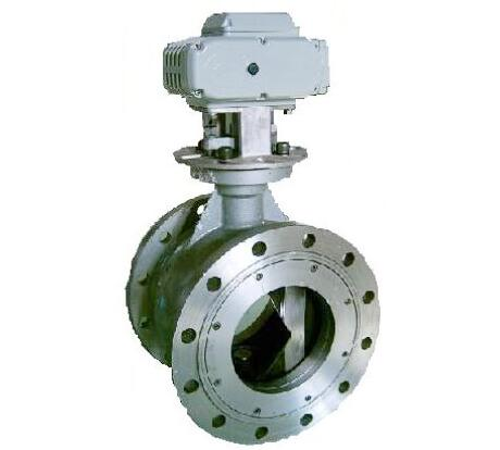 Electric proportional integral regulating ball valve