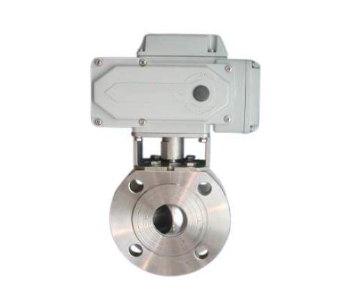 Electric ultra-thin ball valve