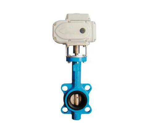 Air conditioner cooling water electric butterfly valve