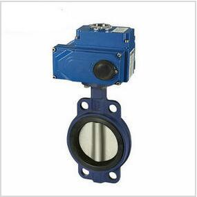 Electric center line butterfly valve