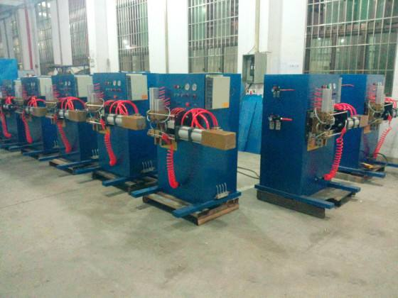 Refrigerator Condenser Evaporator Copper And Aluminum Tube Pipe Welding Machine